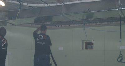 Instalación eléctrica de sala radio terapia en Hospital Duran i Reynals