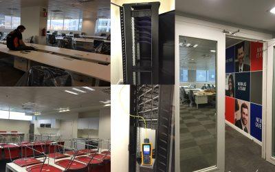 Nuestros trabajos realizados en oficinas.